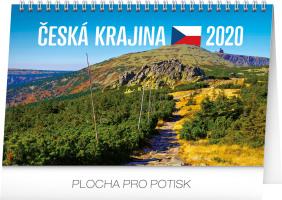 Stolní kalendář- Přírodní krásy ČR