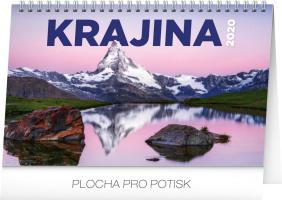 Stolní kalendář Krajina CZ/SK 2020
