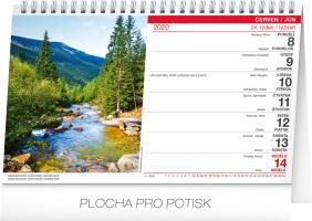 Stolní kalendář- Houbařský