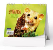 Stolní kalendář- Kočky