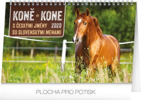Stolní kalendář Koně - Kone CZ/SK 2020