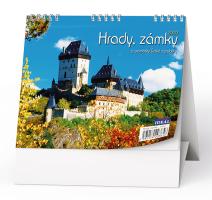 Stolní kalendář- pracovní- Evropská města