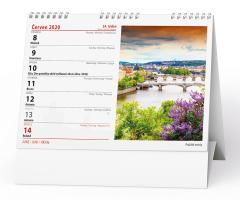 Stolní kalendář- Česká republika