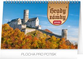 Stolní kalendář- Praha