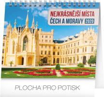 Stolní kalendář Nejkrásnější místa Čech a Moravy 2020