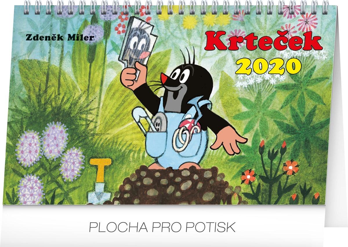 Stolní kalendář- Krteček 2019