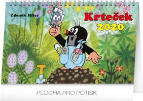 Stolní kalendář- Krteček