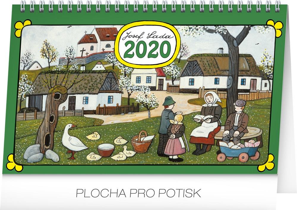 Stolní kalendář- Alfons Mucha 2019