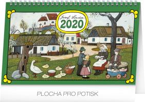 Stolní kalendář- Alfons Mucha
