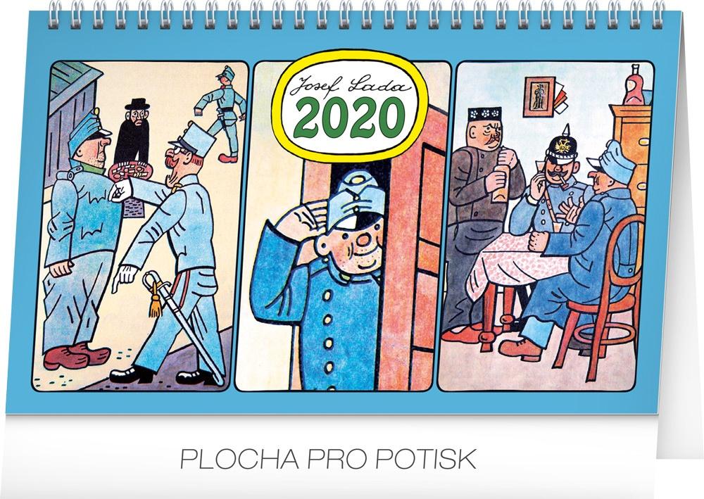 Stolní kalendář- Josef Lada- Zvířátka 2019