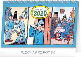 Stolní kalendář- Josef Lada- Zvířátka