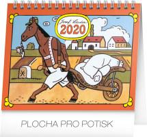 Stolní kalendář Josef Lada - Zvířátka 2020