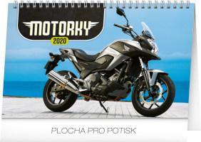 Stolní kalendář Motorky 2020