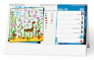 Stolní kalendář- Tipy na cyklovýlety