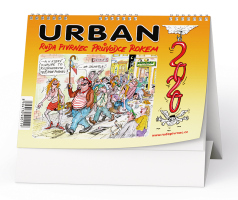 Urban -  Ruda Pivrnec průvodce rokem 2020 (CZ/SK)