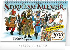Stolní staročeský kalendář - reedice - Kamila Skopová 2020
