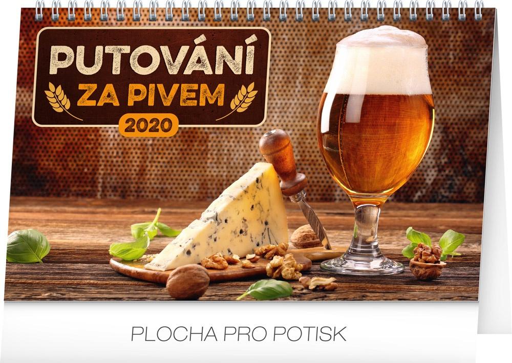 Stolní kalendář Putování za pivem 2020 2019