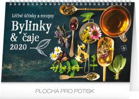 Stolní kalendář Bylinky a čaje 2020