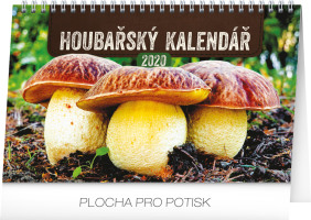 Stolní Houbařský kalendář 2020