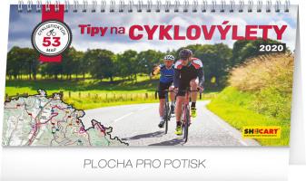 Stolní kalendář Tipy na cyklovýlety 2020