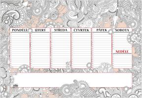 Stolní kalendář- Zdraví
