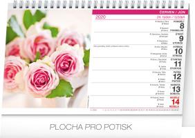 Stolní kalendář- Z domova