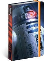 Notes Star Wars - Blue, linkovaný