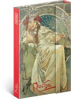 Notes Alfons Mucha - Princezna, linkovaný