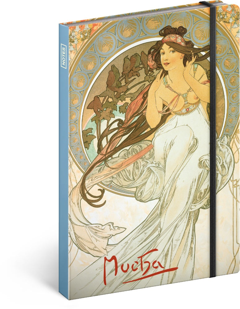 Notes Alfons Mucha - Hudba, linkovaný 2019