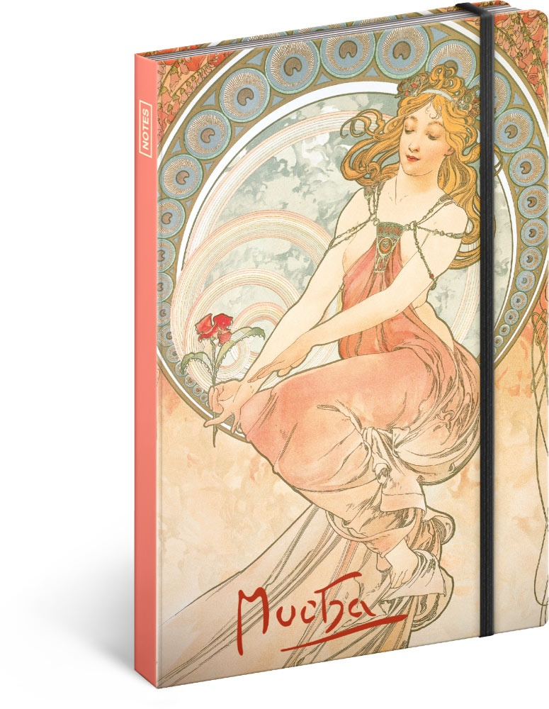 Notes Alfons Mucha - Obraz, linkovaný 2019