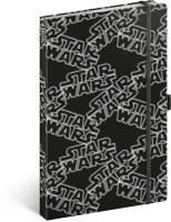 Notes Star Wars Black linkovaný